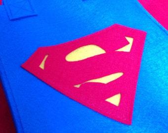 Superman Halloween Trick-Or-Treat bag