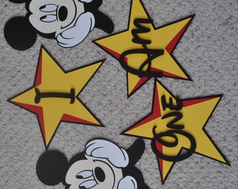 Mickey Mouse First Birthday Decorations