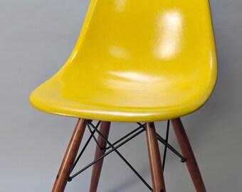 Herman Miller Eames dowel walnut bases