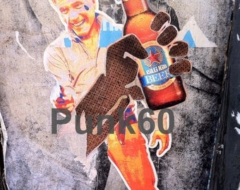 Urban Street Art Graffiti Mitt Romney Beer Fine Art Print Photography from New York City You Are Beautiful