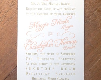 Vintage Blush Lace Wedding Invitations & RSVPs