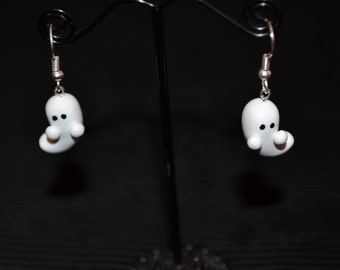 Cute Halloween Ghost Earrings