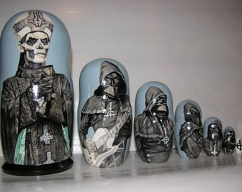 GHOST band nesting doll