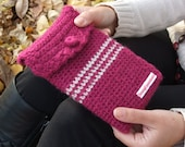 Discounted 6 inch crochet e-reader case/kindle case/kindle sleeve
