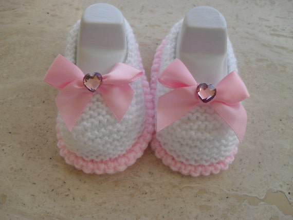 Knitting Pattern For Baby Girl Shoes : Instant Download Knitting Pattern Baby Girl by MarilynsCreation