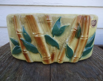 Royal Copley Bamboo Planter