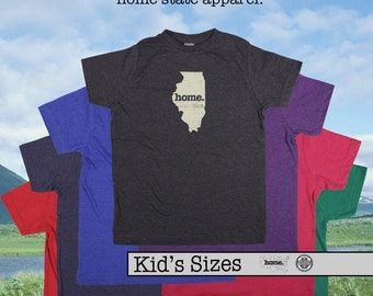 Illinois home tshirt KIDS sizes The Original home tshirt