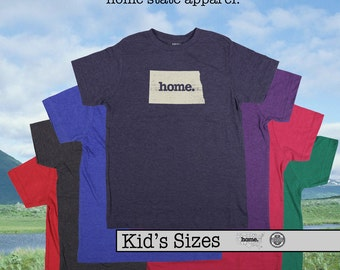 North Dakota home tshirt KIDS sizes The Original home tshirt