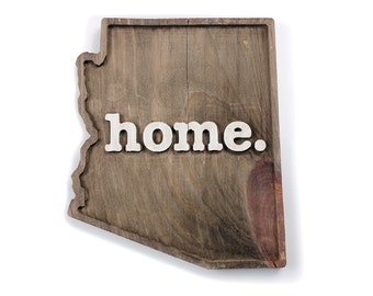 Arizona home. Rough Cut Mill Wood Wall Hanging