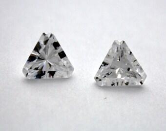 1 Cubic Zirconia Trillion   Crystal Cubic Zirconia   10 mm Trillion   Cubic Zirconia