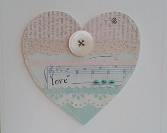 Love Heart Mixed media picture