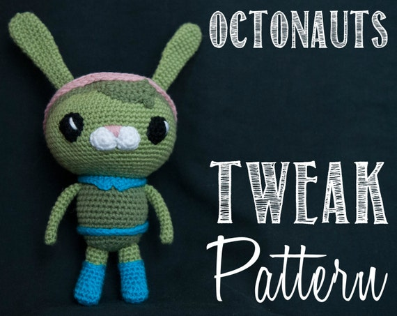 Tweak (The Octonauts) Amigurumi Crochet Pattern | Crochet