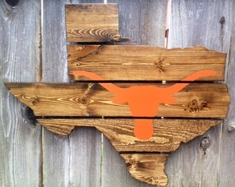 Recycled Pallet University of Texas Longhorns