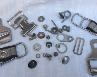 Stainless mixed components-assemblage, steampunk, altered art