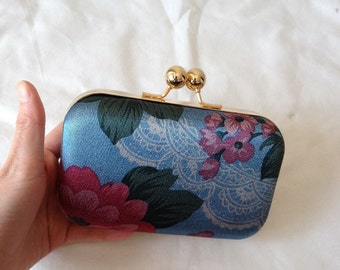 Cute Flower Print  Clutch Bag