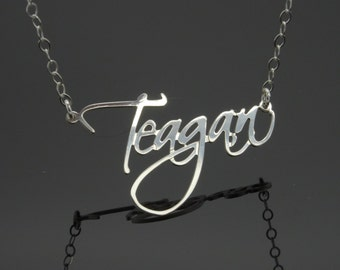 Name Necklace Personalized Necklace 925 Sterling Silver SAME DAY SHIPPING