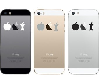 Apple Evolution iPhone Decal Sticker