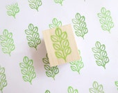Leaf stamp, Home decor stamp, Pale green leaf, scrap booking, Teacher's supplies, Wrapping paper, Lime green, Simple art, Stationery decor