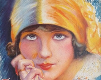 Original June 1927 Mary Brian Photoplay Magazine Cover - Hollywood's Golden Age