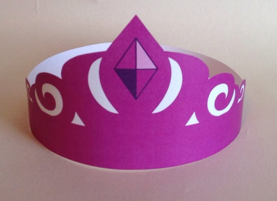 Princess Anna Inspired Paper Crown Printable by PutACrownOnIt