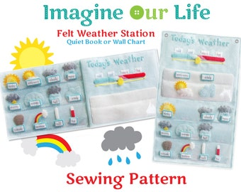 Felt Weather Station Digital Sewing Pattern