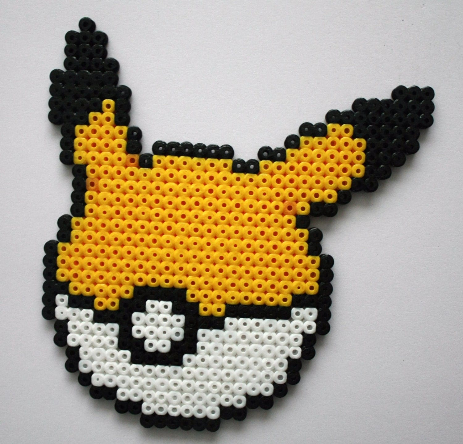 Pokemon pokeball perler beads images pokemon images - Modeles perles a repasser ...