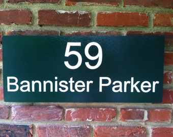 House number  - Street Address Sign Custom