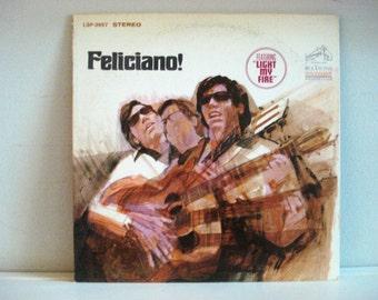 Feliciano! - Vintage Vinyl Record Album - Vintage Music - Vintage Ephemera