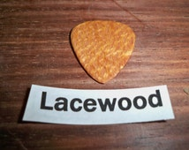 Lacewood Guitar Pick