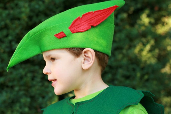 robin hood hat peter pan hat felt hat. Black Bedroom Furniture Sets. Home Design Ideas