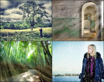 18 Photoshop Action 40 Overlays - Weather Wonder