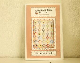 Charming Checks Pattern (QUILT)