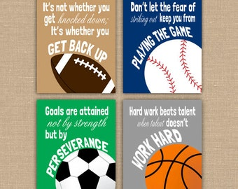 Sports Quotes Etsy