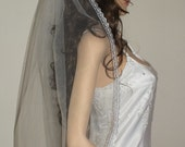 Bridal veil, Lace veil, traditional veil,cathedral veil