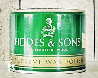 Fiddes Supreme Wax 500mL {In the Color of Your Choice}