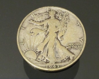 1943 Walking Liberty Half Dollar Silver Coin