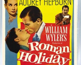 Audrey Hepburn - Roman Holiday - Fridge Magnet – New