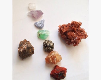 CUSTOM ORDER: Build Your Own 9 Crystals Stones Set, Healing Crystals and Stones Set