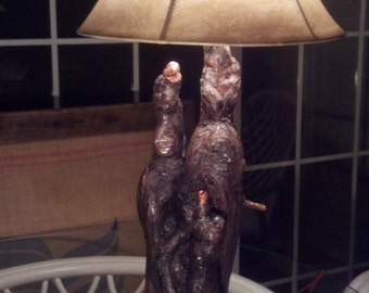The 'Family' Tree lamp, Cypress
