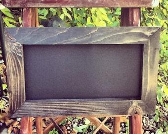"Rustic Chalkboard 10""x16"""