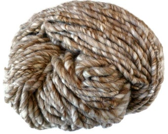 BULK BUY Handspun Shetland wool yarn, super bulky, chunky, Shetland humbug British wool