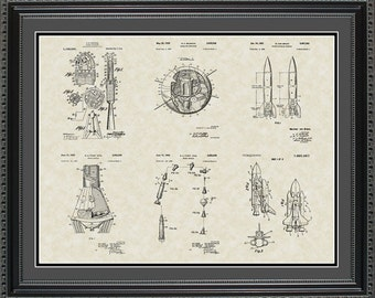 Space Patent Collection Space Astronaut Gift PSPCE2024