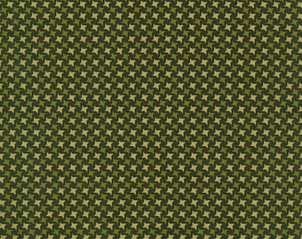 RJR Thimbleberries Winter Pines 1566 02 Geometric Green by the Yard