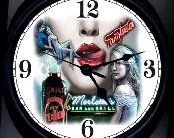True Blood Wall Clock
