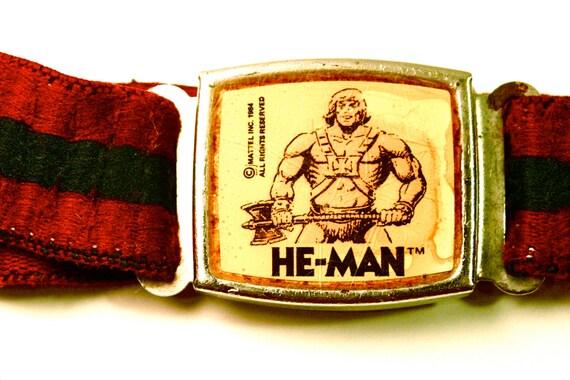 Etsy Vintage He-man Belt