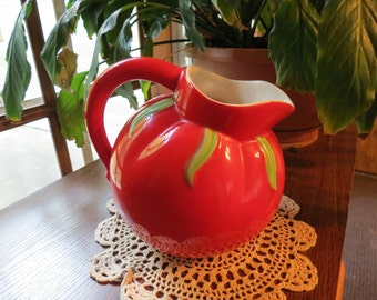 ON SALE! The Pantry Parade Tomato Ware Pitcher