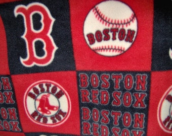 Boston Red Sox MLB Fleece Throw