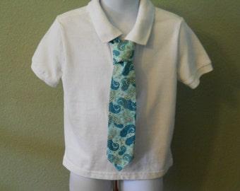 Paisley Pattern Children's Tie