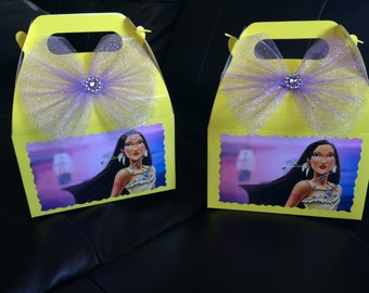 Disney Princess Pocahontas Birthday favor Box
