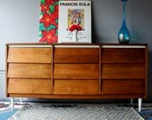 Vintage Refinished MCM dresser